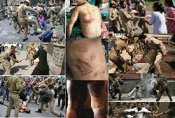 Indian troops are torturing Kashmir