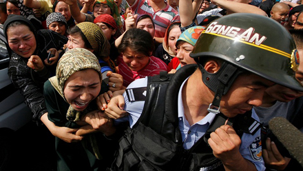 Muslim women are being held captive in China